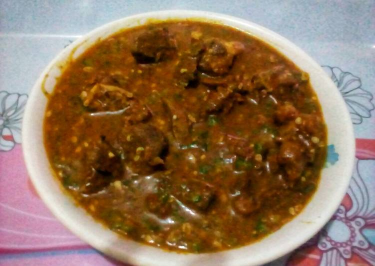 West African Foods Golden Ogbono Soup