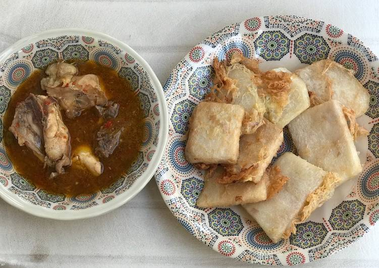 golden yam with chicken pepper soup recipe main photo