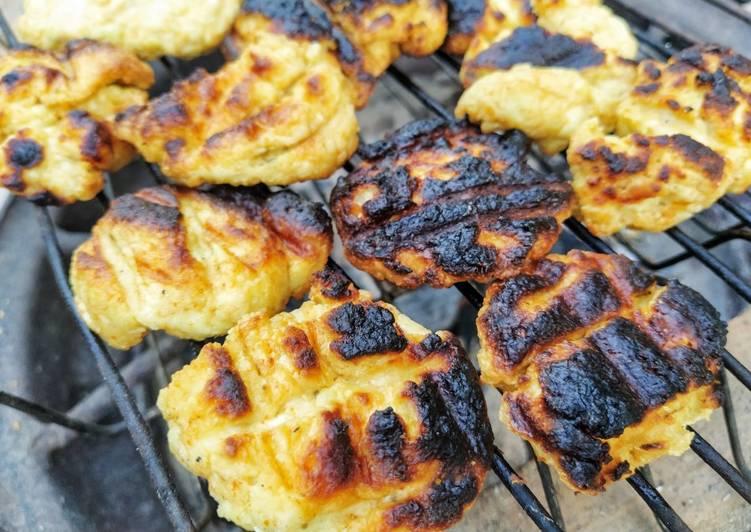 West African Foods Grilled Awara