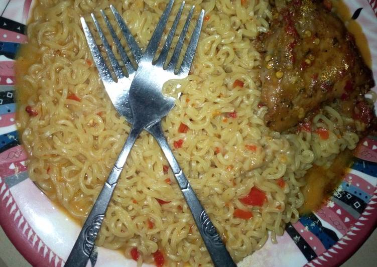 indomie in chicken pepper soup recipe main photo