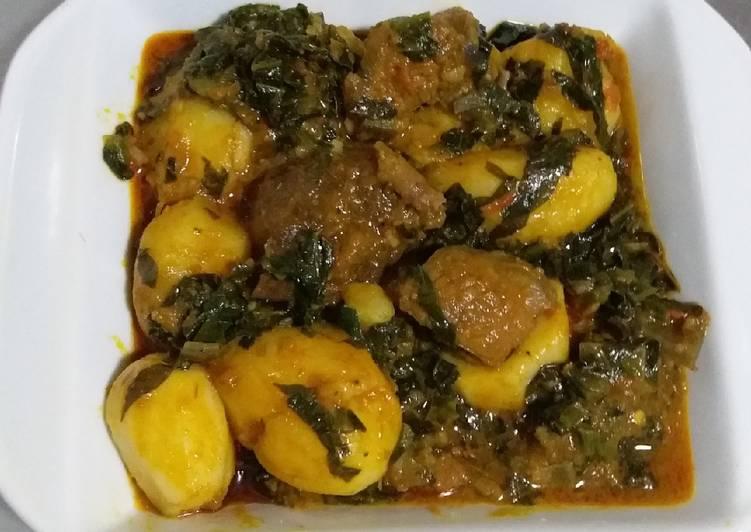 African Food Irish Potatoes Porridge