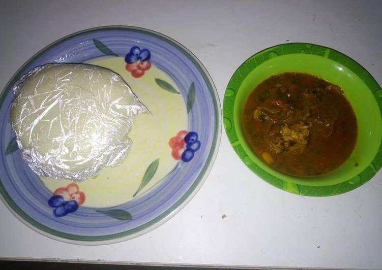 iyan and ogbono recipe main photo