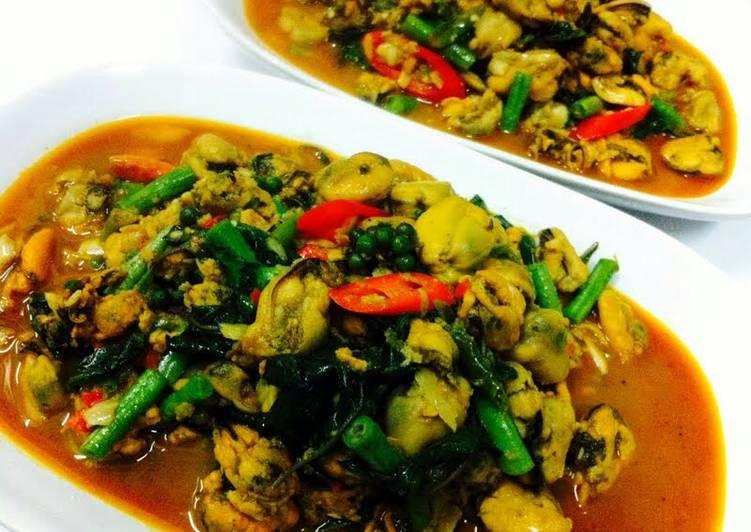 kanya s mussels in hot basils recipe main photo