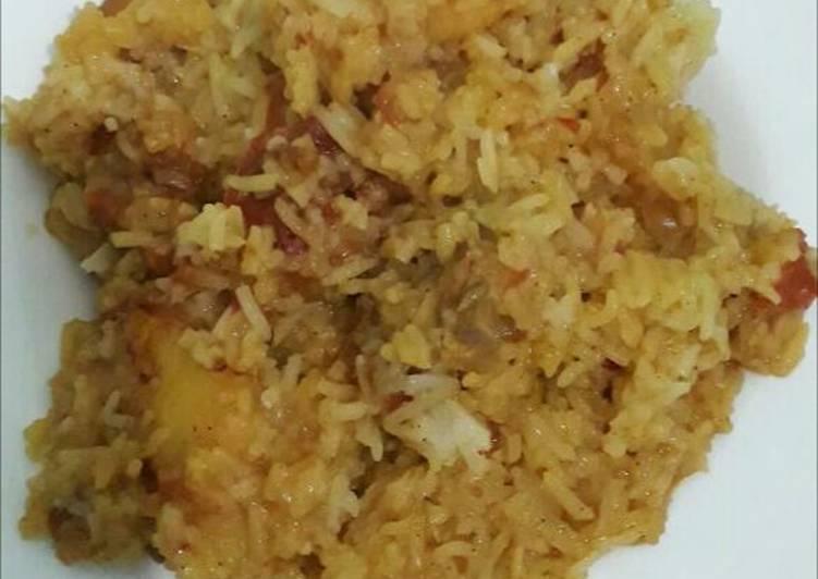 kenyan fried rice recipe main photo