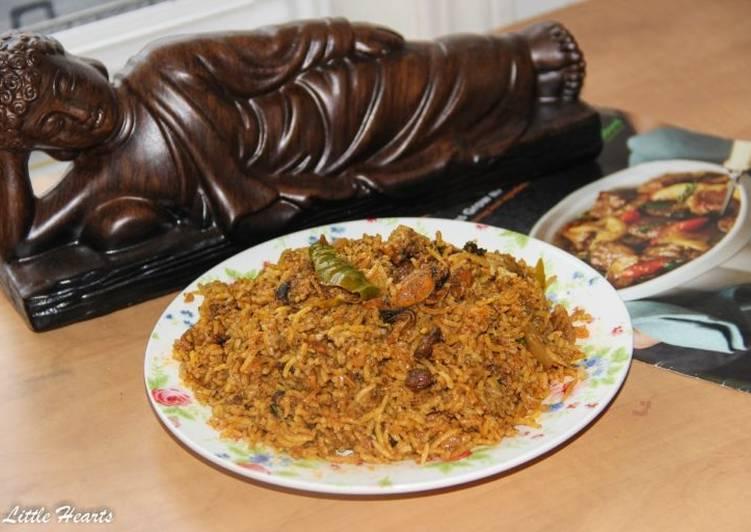 kerala style mussels biryani malabari kadukka biriyani recipe main photo