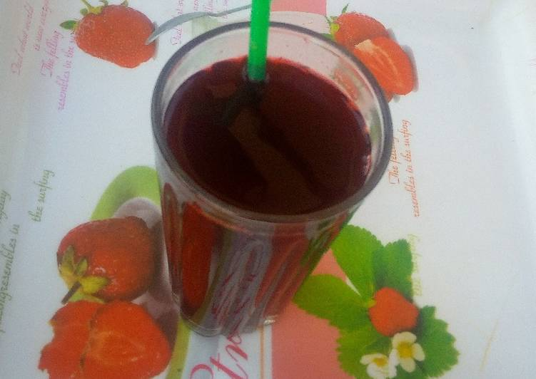 Traditional African Foods Lemun zobo