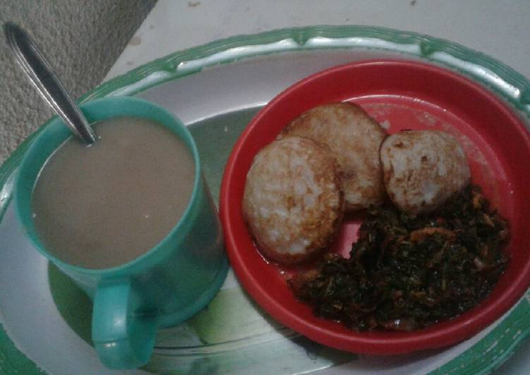 West African Foods Millet pap and Masa