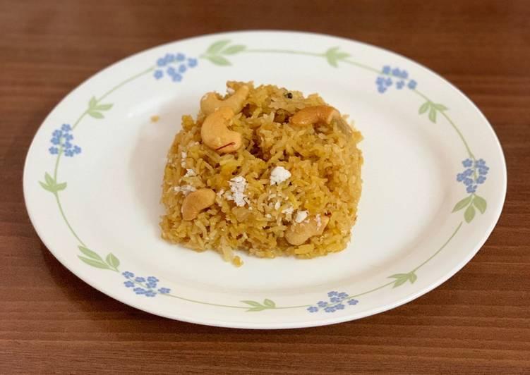 narali bhatsweet coconut rice recipe main photo