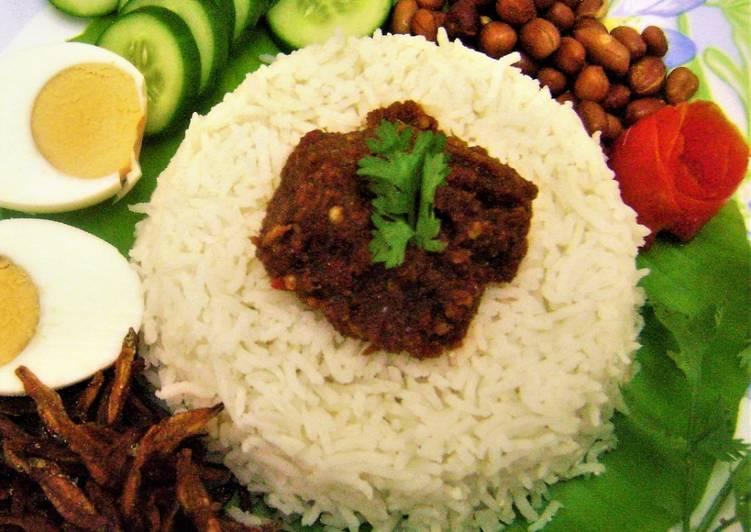 nasi lemak fragrant coconut rice malaysian style recipe main photo