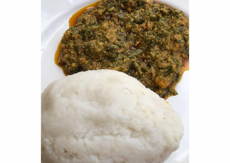 African Food Nigerian Egusi Soup