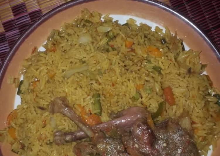 nigerian fried rice recipe main photo 1
