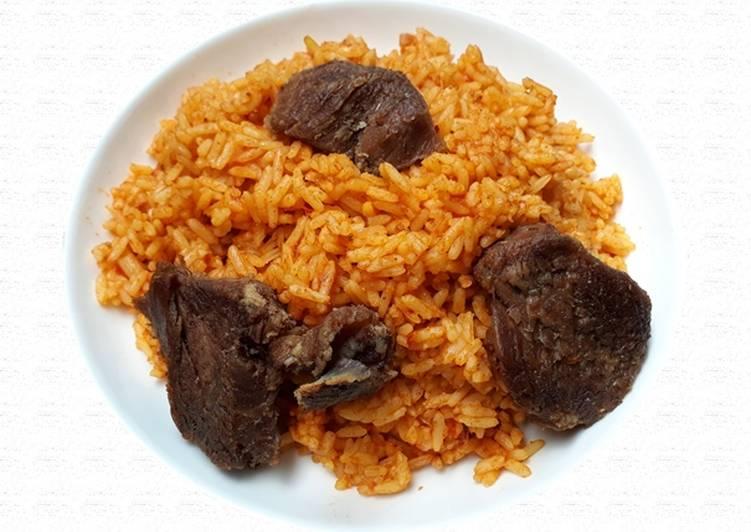 nigerian jollof of rice recipe main photo