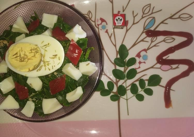 northern nigerian moringa salad recipe main photo