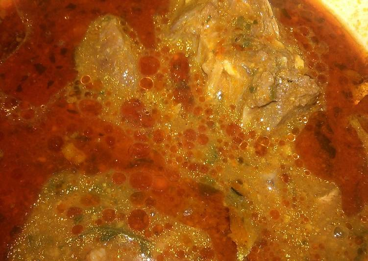 obgono soup with beef and ice fish recipe main photo