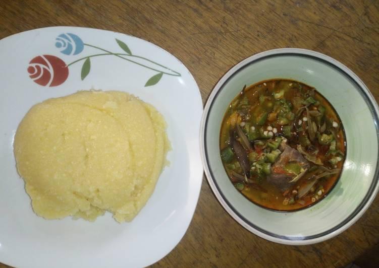 ofe ugba and eba recipe main photo 1