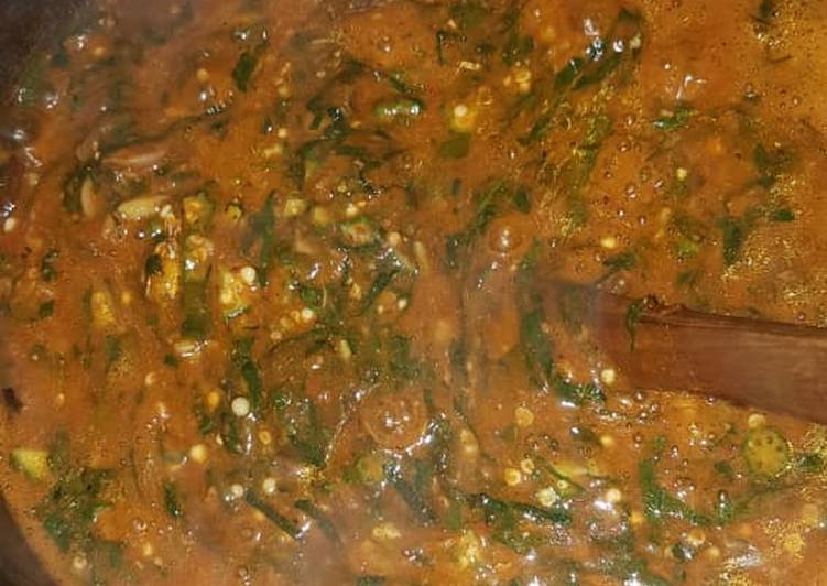 ogbono and okro soup recipe main photo 9