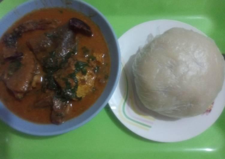 ogbono soup with samvita recipe main photo
