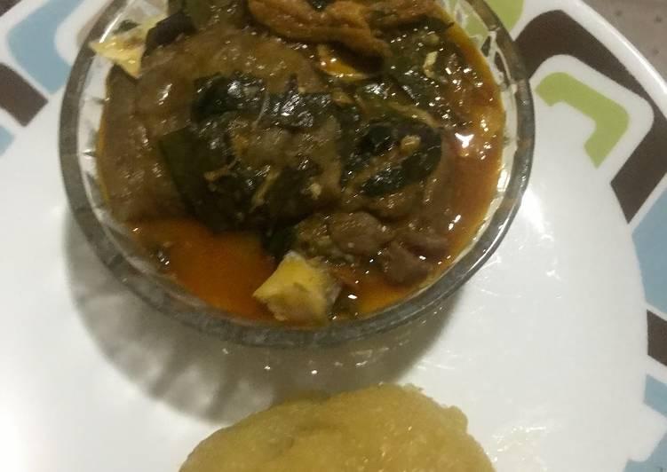 oha soup recipe main photo 1