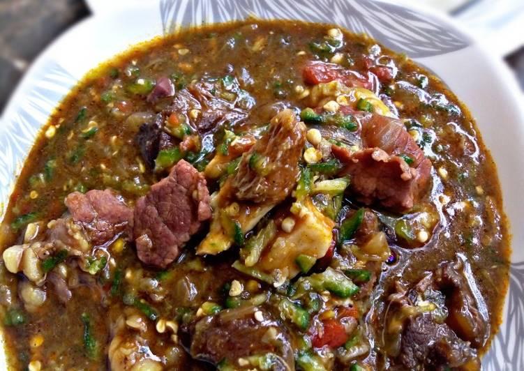 okra soup recipe main photo