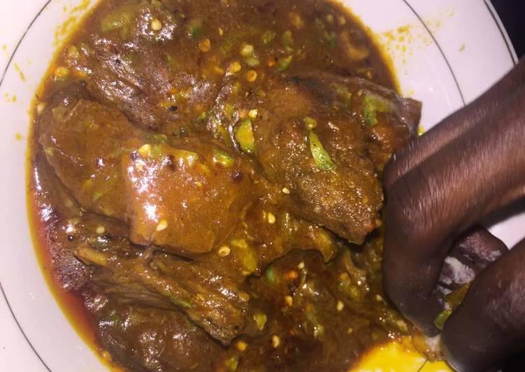 okro ogbono soup recipe main photo 1