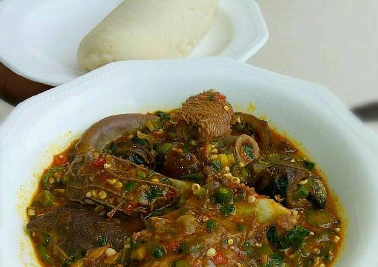 African Cuisine Okro soup