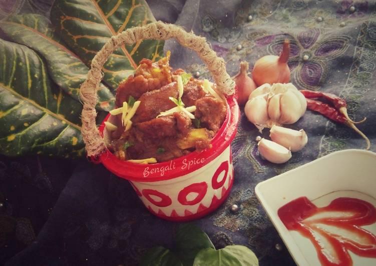 pakistani traditional balti gosht balti muttun recipe♥ recipe main photo