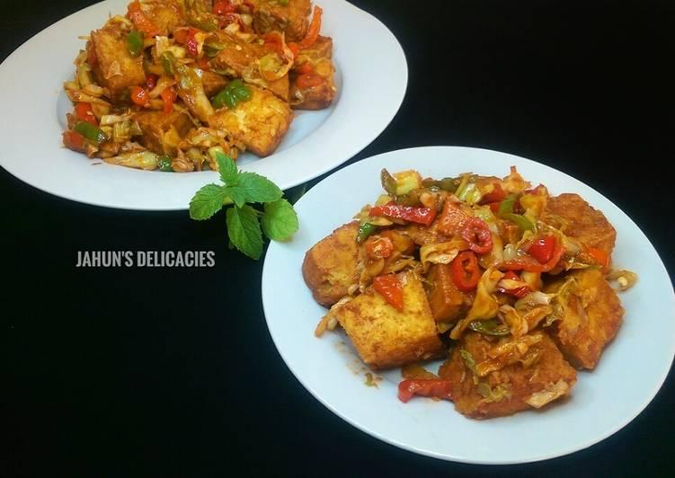peppered tofuawara recipe main photo
