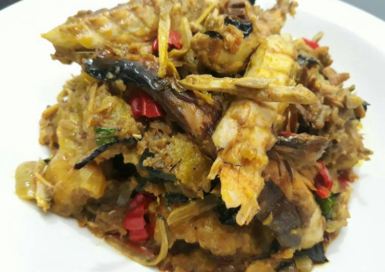 plantain porriage with ugba recipe main photo 1