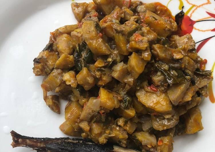 African Cuisine Plantain Porridge