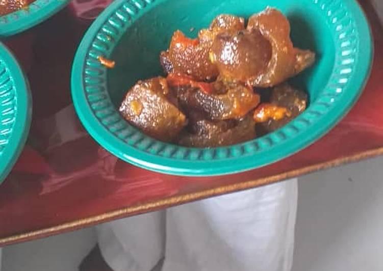 African Food Pomo sauce