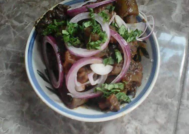 pomo with utazi leaves recipe main photo