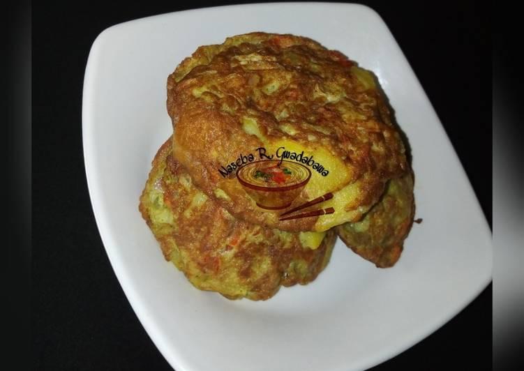 African Food Potato masa