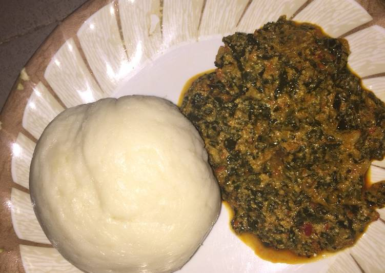 pounded yam and egusi soup recipe main photo 11