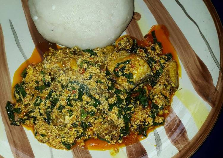 pounded yam and egusi soup recipe main photo 9