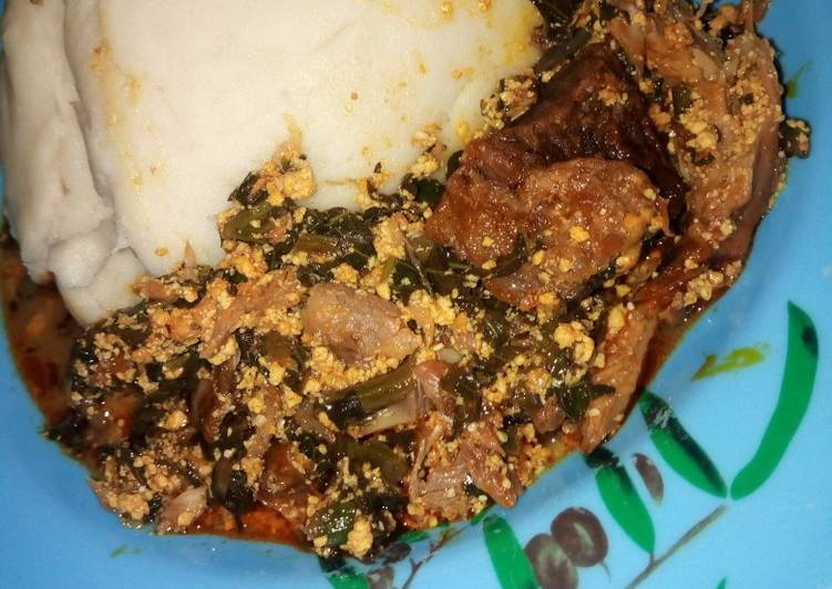 African Cuisine Pounded Yam