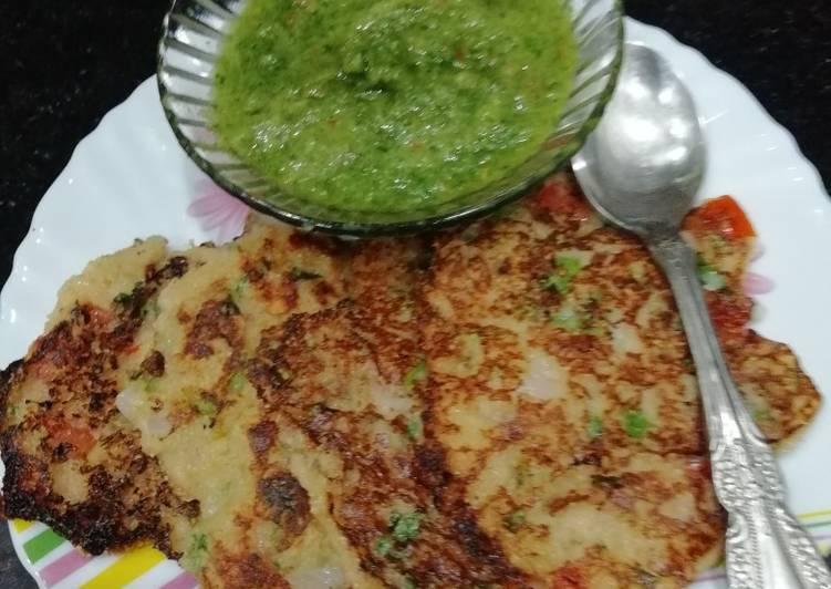 rice pancakes recipe main photo
