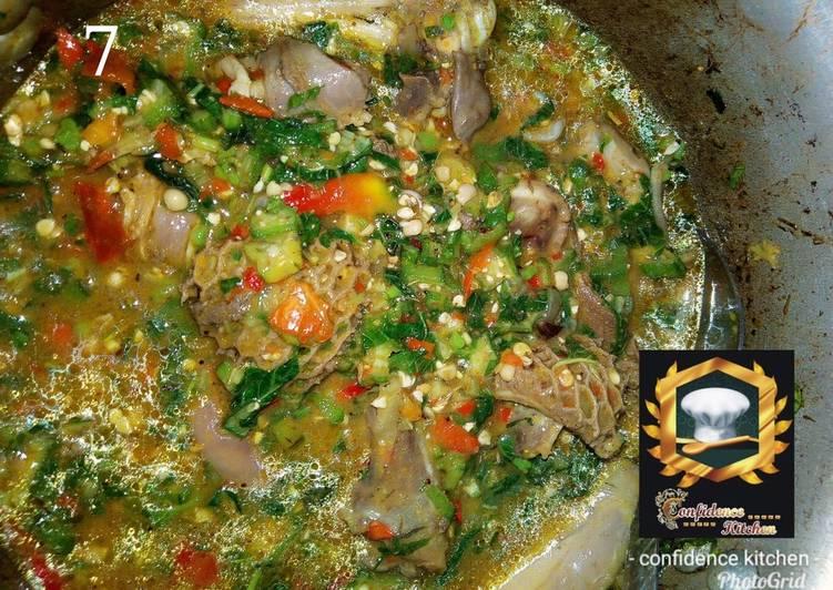 rich okro soup recipe main photo