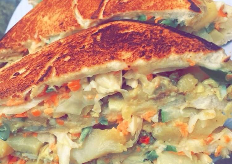 sandwich shawarma recipe main photo