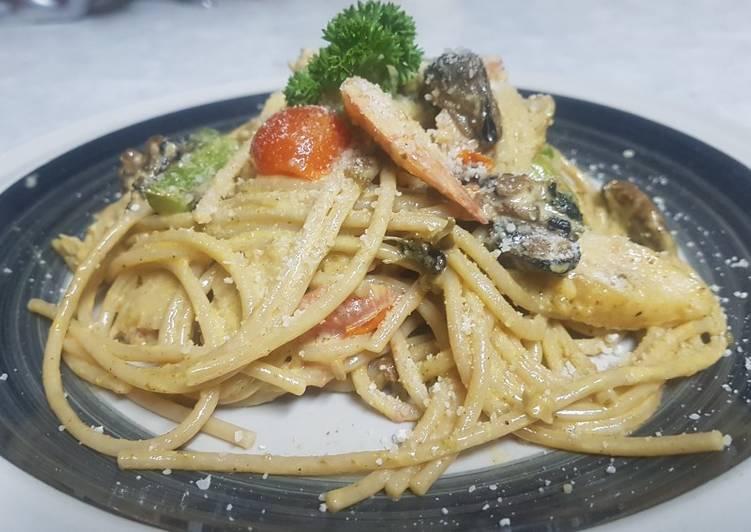 seafood pasta recipe main photo 1