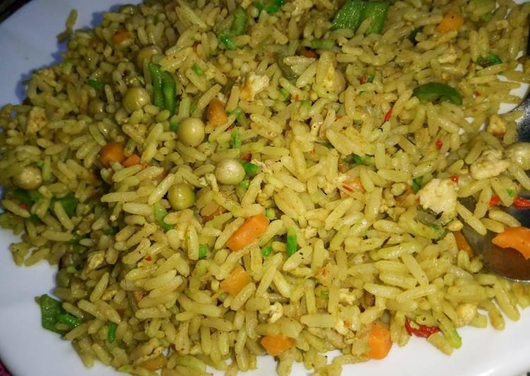 simple fried rice recipe main photo 1