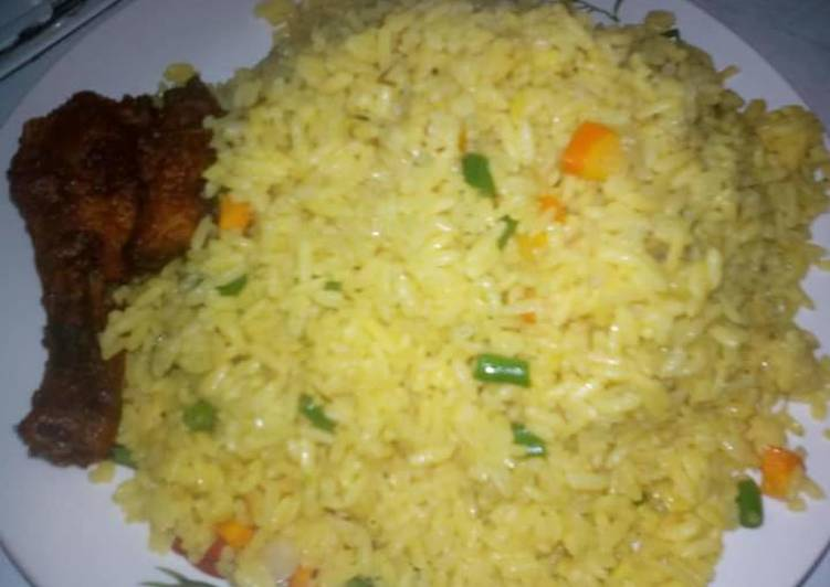 West African Foods Simple fried rice