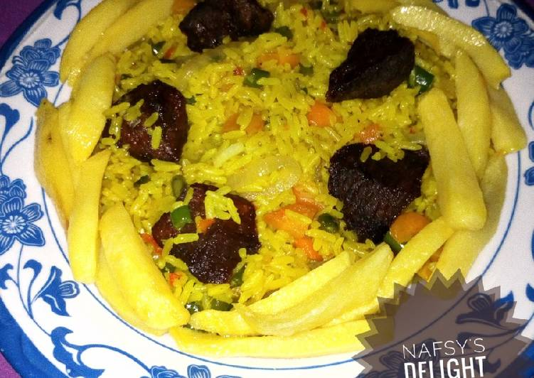 Traditional African Foods Simple fried rice