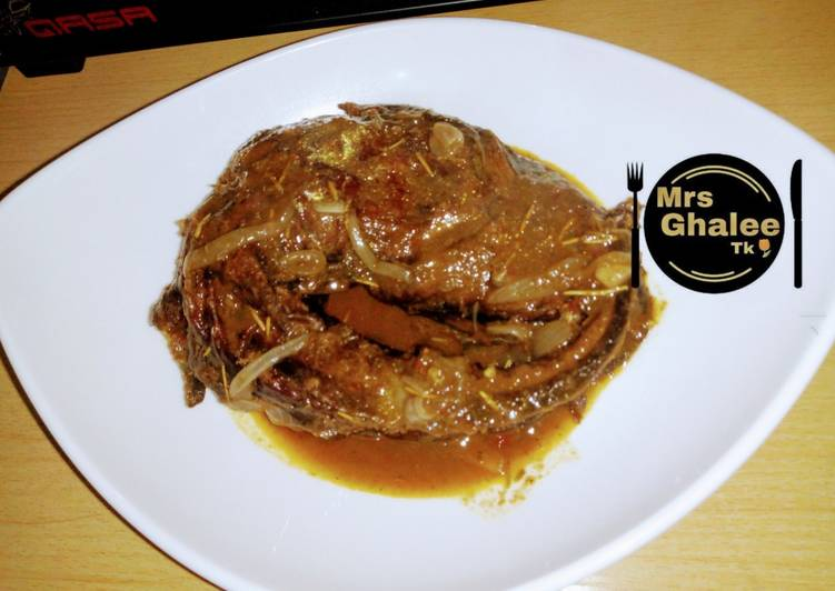 African Cuisine Smoked fish pp soup