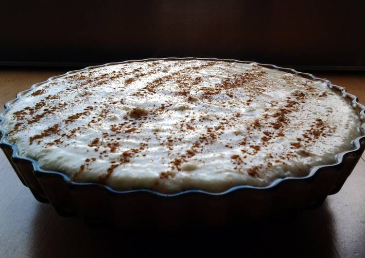 African Dish South African milk tart
