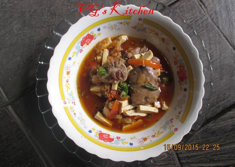 spicy marinated chicken liver and gizzards ati ampela bumbu pedas recipe main photo