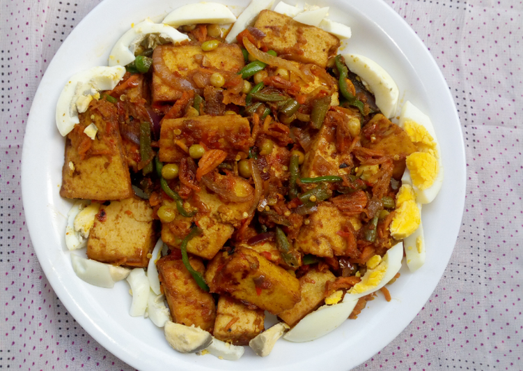 Traditional African Foods Spicy Tofu