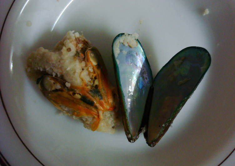 stuffed mussels recipe main photo