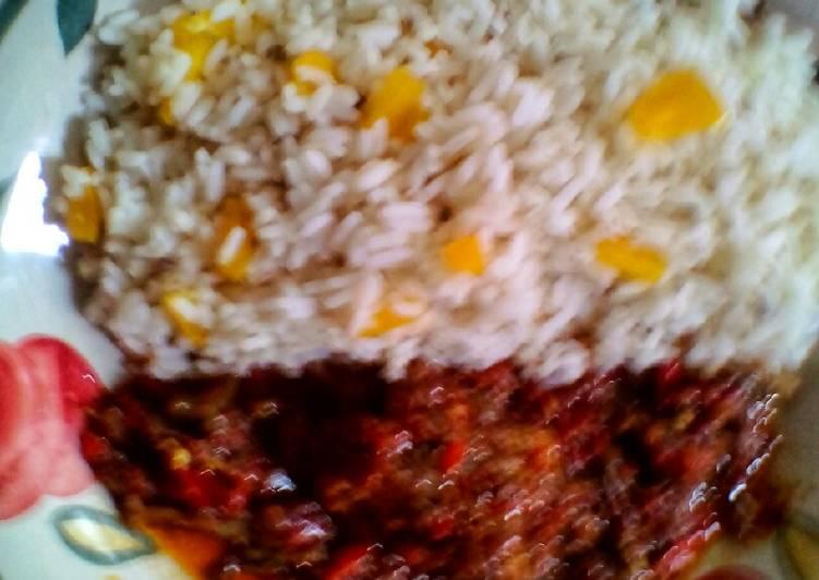 sunshine rice and kienyeji recipe main photo