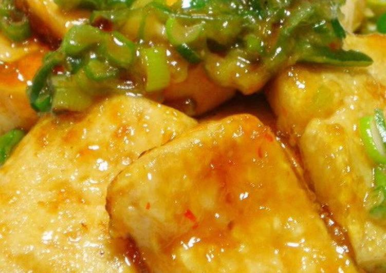 Traditional African Foods Sweet, Spicy, Rich Tofu Steaks