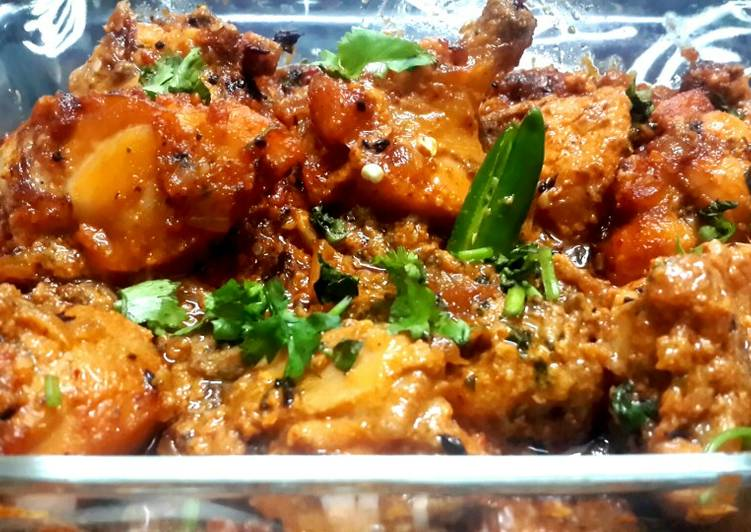 West African Foods Traditional Amritsari Chicken Masala